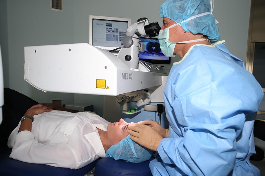 Bilder Lasek Operation